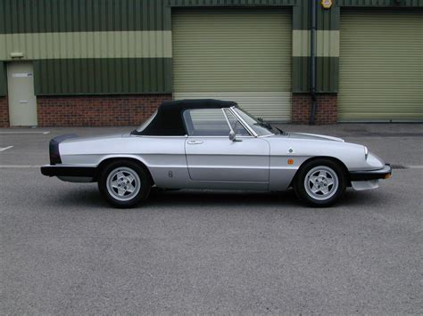 Used Alfa Romeo Spider by Used 1986 Alfa Romeo Spider For Sale In