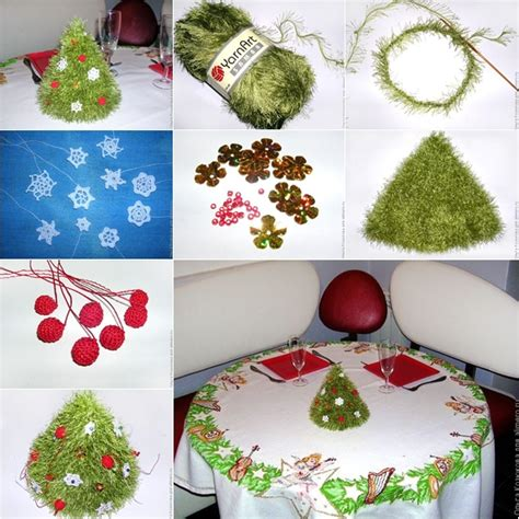 how to make a tree with ornaments wonderful diy knitted tree with ornaments