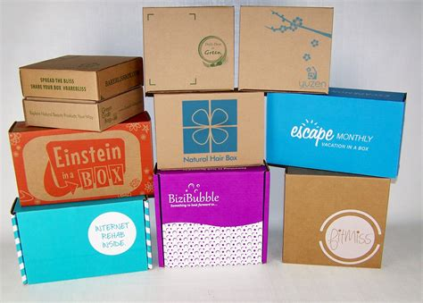 subscription box stickers versus custom packaging