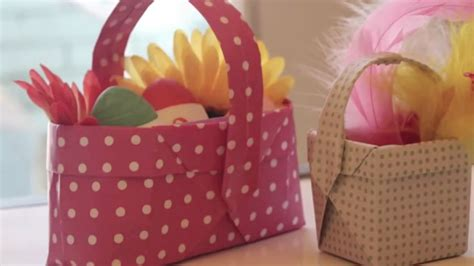how to make a origami easter basket how to make origami easter baskets curious