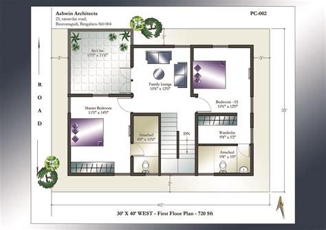 28 x 40 house plans 30 x 40 house plans 30 x 40 west facing house plans