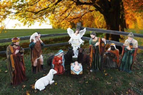 outdoor creche 39 outdoor nativity set large creche figures for
