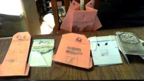 origami qui gon jinn the phantom menace origami yoda
