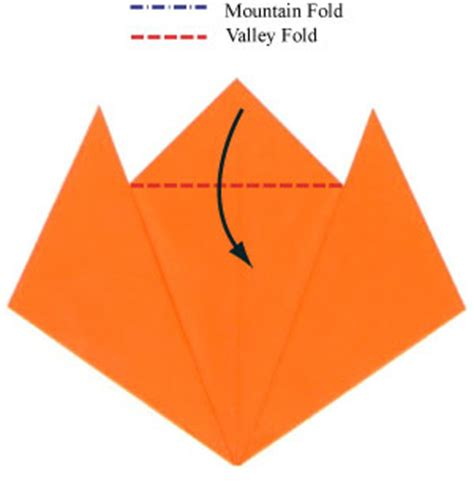 origami tiger easy how to make an easy origami tiger page 4
