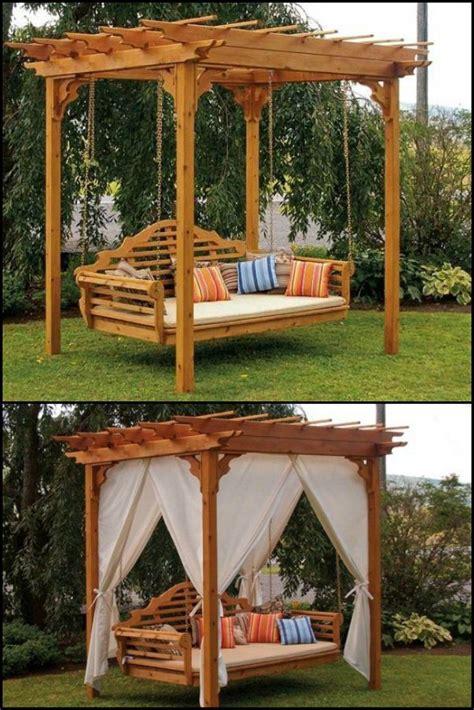 pergola swings best 25 pergola swing ideas on patio swing