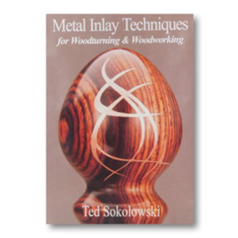 metal inlay techniques for woodturning woodworking sokolowski studios metal inlay techniques dvd shop