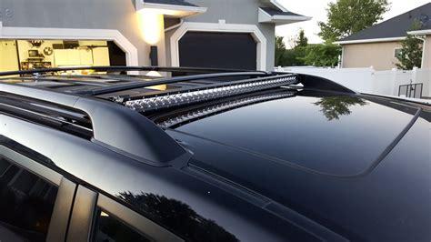 discreet 40 quot led lightbar on factory roof rack ih8mud forum