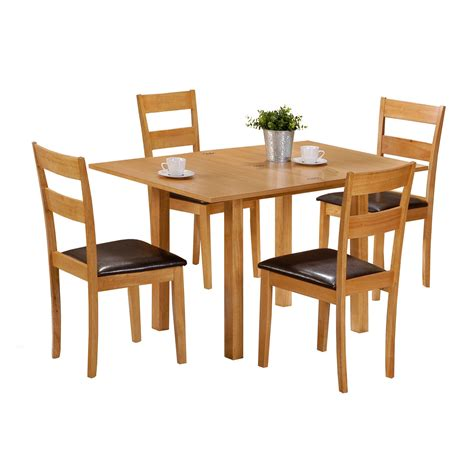 dining room table and 4 chairs 4 chair dining table set 187 gallery dining