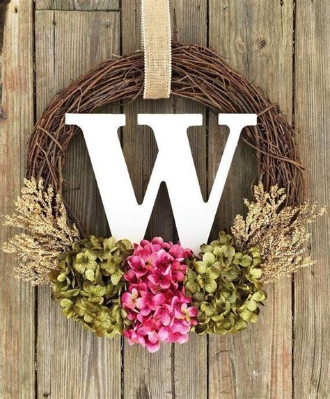 door wreaths 17 best ideas about initial wreath on letter
