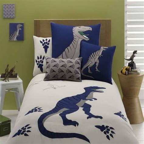 dinosaur bedding set embroidered gray dinosaur bedding set dinosaur bedding
