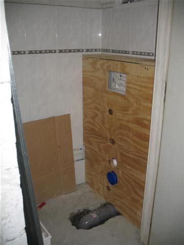 Zwevend Toilet Afvoer by Zwevend Toilet Plaatsen Klus Voorbeeld Toilet