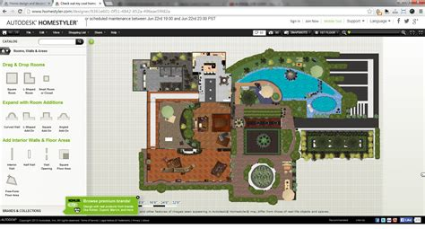 Free Cad Floor Plans autodesk homestyler web based interior design software