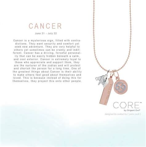 origami owl order origami owl collection zodiac cancer order yours