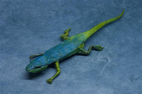 origami gecko iguana fold these 28 awesome origami lizards