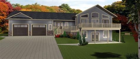 walkout basement home plans best of split level house plans with walkout basement new home plans design