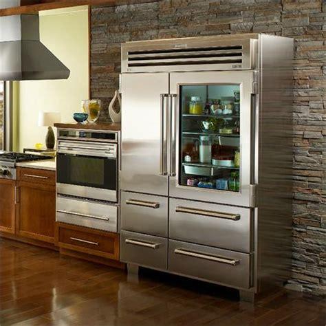 sub zero glass door pro 48 refrigerator with glass door from sub zero 174