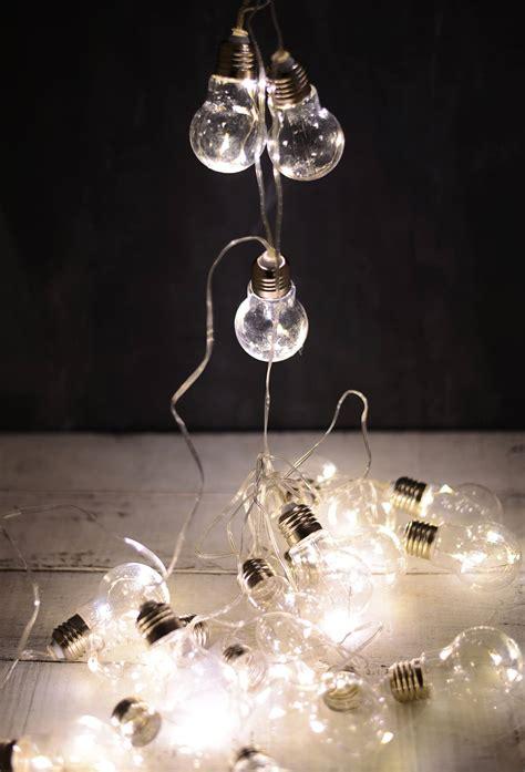 light bulb strings edison bulb led string lights 20ct 9ft clear cord