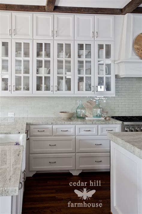 kitchen cabinets glass front the best kitchen styling tip cedar hill farmhouse