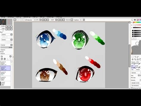 paint tool sai german paint tool sai brush settings german doovi