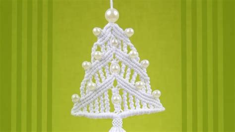 macrame tree pattern how to make a macrame tree ornament 171