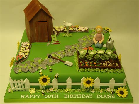 vegetable patch garden cake cakeology