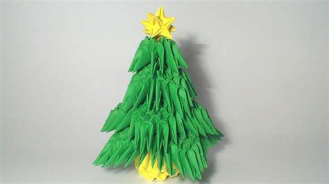 origami 3d tree 3d origami mini tree tutorial