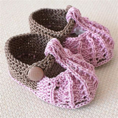knitted shoes pattern free free knitting patterns baby shoes