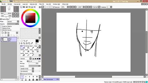 Paint Tool Sai Installed On Surface Pro