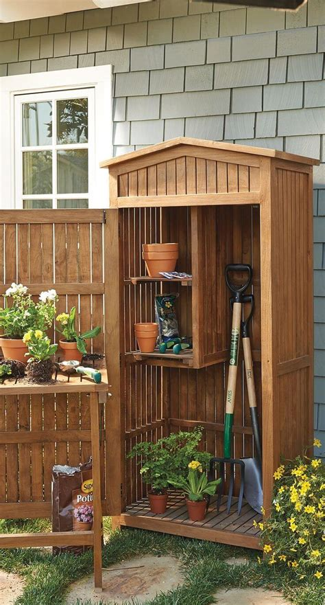 small garden storage ideas 27 best small storage shed projects ideas and designs