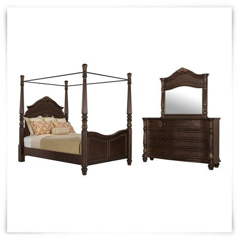 tradewinds bedroom furniture city furniture tradewinds tone woven canopy bedroom