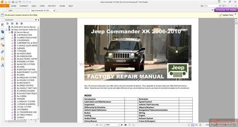 service repair manual free download 2007 jeep commander engine control 2004 jeep liberty service repair manuals pdf download autos post