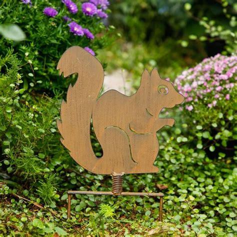 Eichhörnchen Gartendeko by Gartenstecker Eichh 246 Rnchen N 252 Ssli Kaufen Bei
