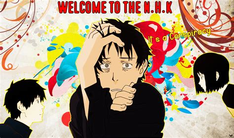 welcome to the nhk welcome to the nhk wallpaper by anthonygc on deviantart