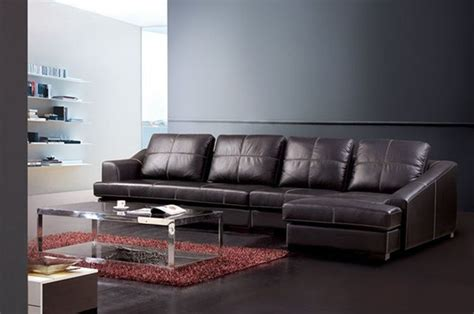 genuine leather sectional sofa exquisite genuine leather sectional contemporary