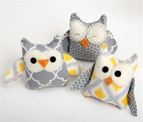 easy sewing crafts easy owl softie craft crafts