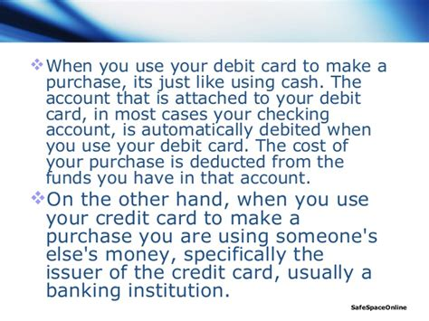 can i make purchases with a debit card debit card vs credit card