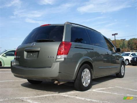 Nissan Quest 2005 by Jade Green Metallic 2005 Nissan Quest 3 5 S Exterior Photo