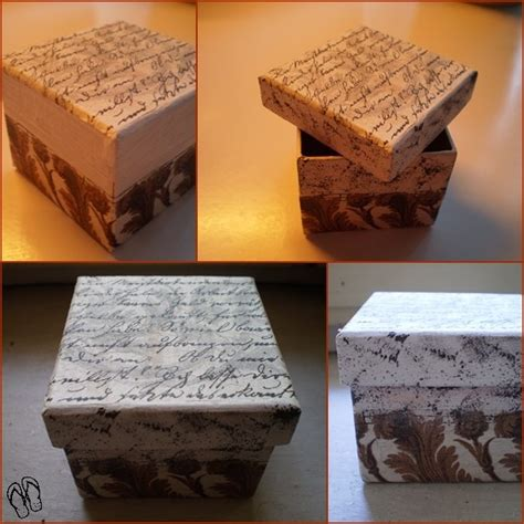 how to decoupage a cardboard box 11 best decoupage images on cardboard boxes
