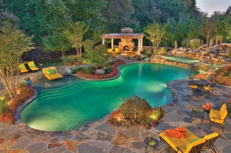 backyard ideas with pools swimming pool designs and landscaping landscaping