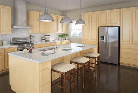 Touraine Slab Birch Kitchen Cabinets Detroit Mi Cabinets