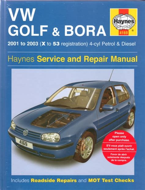 service and repair manuals 2001 volkswagen golf head up display vw golf and bora service and repair manual haynes 2001 2003 new sagin workshop car manuals