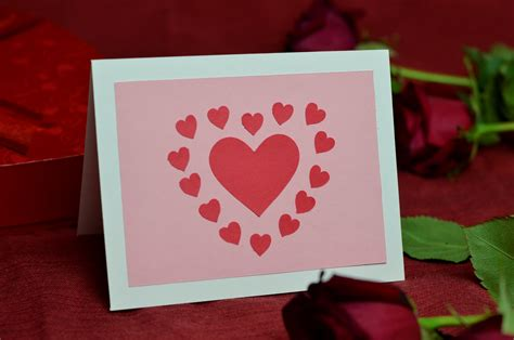how to make a valentines card ideas for s day cards with cut out hearts