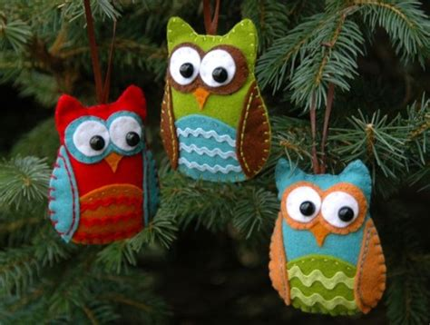 owl craft projects felt ornaments 10 awesome owl craft projects