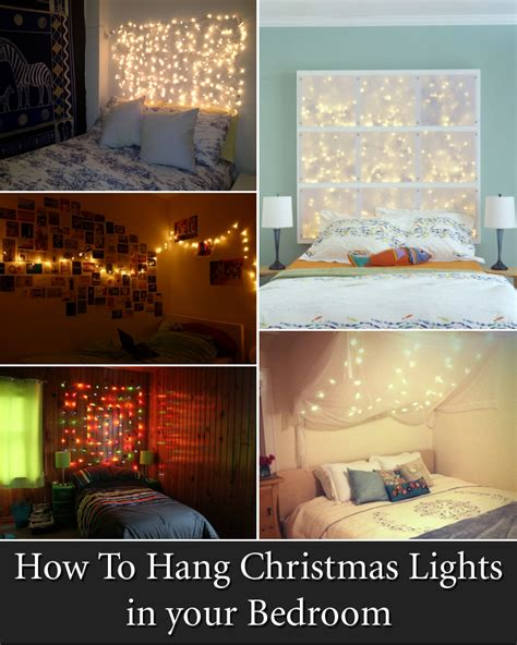 cool lights for your bedroom cool ways to put up lights in your bedroom with