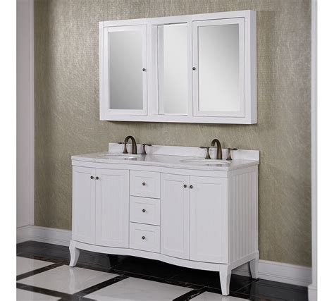 white bathroom vanities cabinets accos 60 inch white bathroom vanity cabinet with