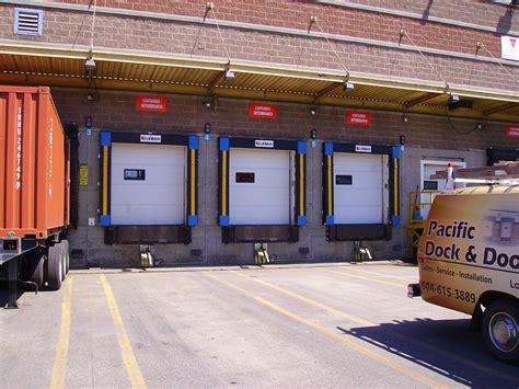 overhead doors vancouver loading docks seals commercial doors metro vancouver