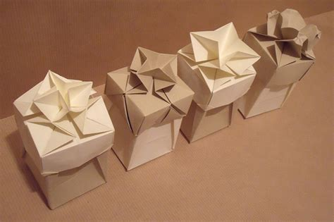 gift wrapping origami origami boxes flickr photo