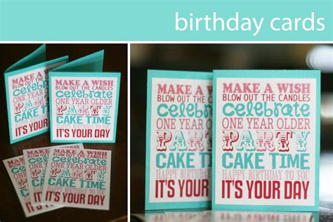 make a birthday card free printable free printable birthday printable decor