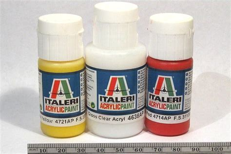 acrylic paint review review italeri acrylic paint yellow and gloss