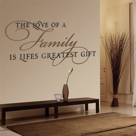 wall decor stickers quotes best 25 family wall quotes ideas on living